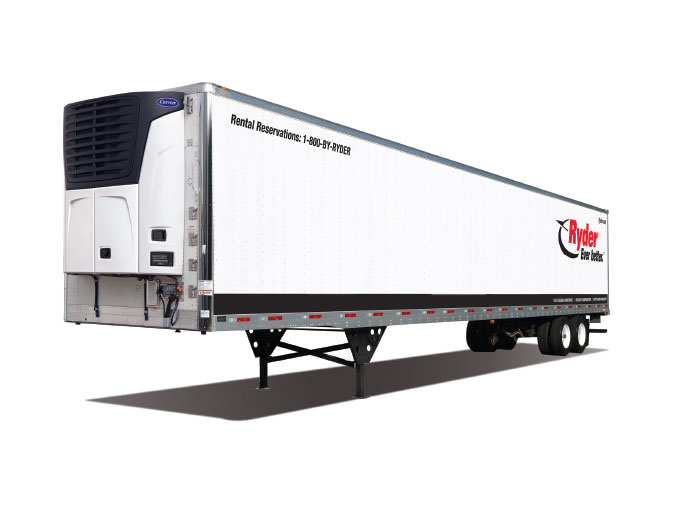Refrigerated Trailer Rental | Reefer Trailer Rental