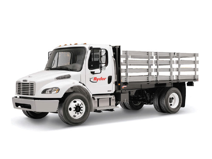 Rent A Truck >> Stake Truck Rentals Rent A Stake Truck Ryder