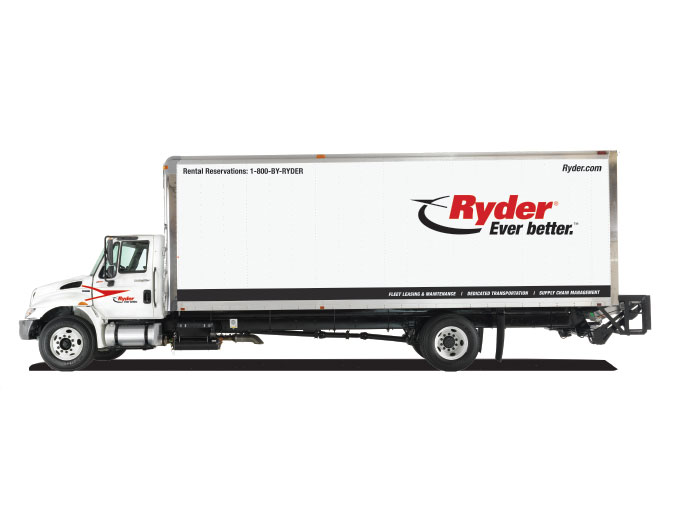 Ryder Truck Rental Commercial Truck Tractor Amp Trailer