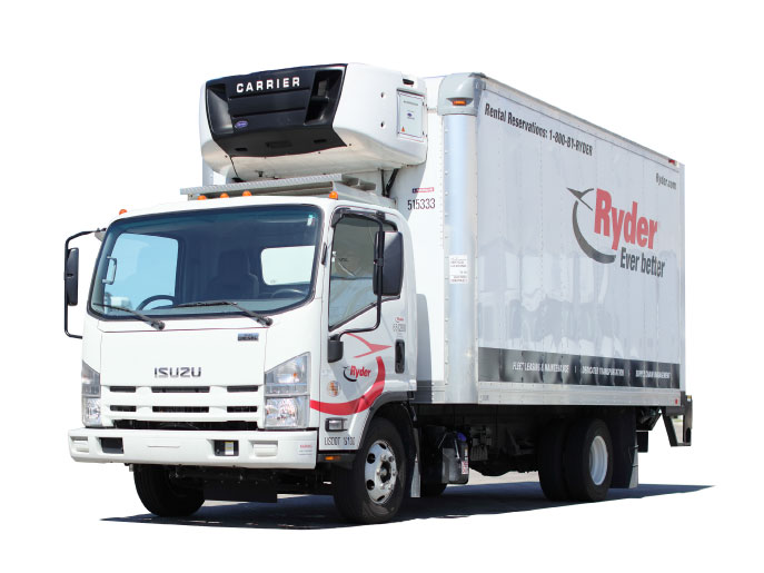Refrigerated Box Truck Rental